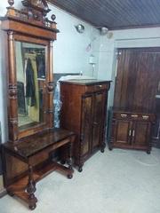 Комплект мебели,  после реставрации (Германия конец 19 нач. 20 в.)
